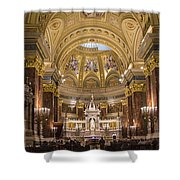St. Stephen's Basilica Shower Curtain