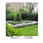 St. Stephen's Garden Shower Curtain