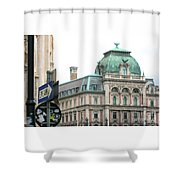 St Stephens Square One Way Vienna Shower Curtain