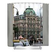 St Stephens Square Vienna Shower Curtain