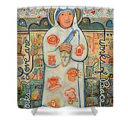 St. Teresa Of Kolkata Shower Curtain
