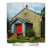 St. Timothy's Episcopal Church Shower Curtain