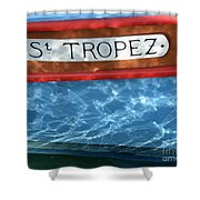 St. Tropez Shower Curtain by Lainie Wrightson