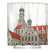 St. Ulrich's And St. Afra's Abbey Shower Curtain
