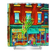 St Viateur Bagel Shop Shower Curtain