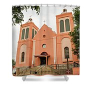 St Vincent De Paul Catholic Church Shower Curtain