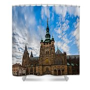 St  Vitus Cathedral In Prague Shower Curtain