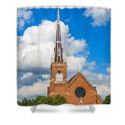 St Wenc On A Bright Summer Day Shower Curtain