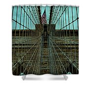 Stable - Brooklyn Bridge Shower Curtain