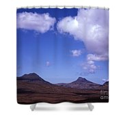 Stac Pollaidh Inverpolly National Nature Reserve Wester Ross Scotland Shower Curtain
