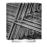 Stacked Barriers 0533 Shower Curtain
