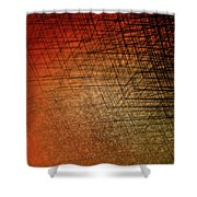 Stacked Boxes-sunset Shower Curtain