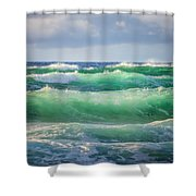 Stacked 0014 Shower Curtain
