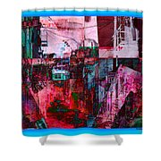 Stackin' The Alley Walk About Shower Curtain