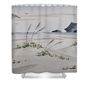 Stacks And Oats 1 Shower Curtain