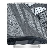 Stadium Abstract Shower Curtain