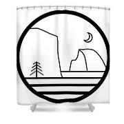 Staff Logo Shower Curtain
