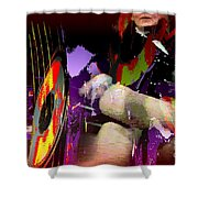 Stage Dancers Shower Curtain