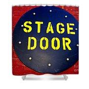 Stage Door Shower Curtain