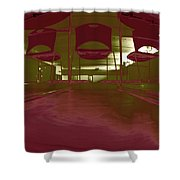 Stage Fright Shower Curtain
