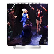 Stage Show Paparazzi Shower Curtain