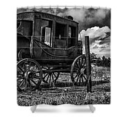 Stagecoach II Shower Curtain