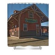 Stagecoach Transportation  Shower Curtain
