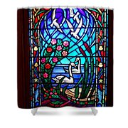 Stained Glass Beauty #20 Shower Curtain