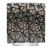 Stained Glass Floral IIi Shower Curtain