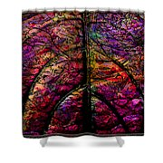 Stained Glass Not Shower Curtain