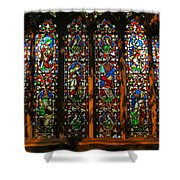 Stained Glass Window Christ Church Cathedral 2 Shower Curtain
