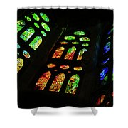Stained Glass Windows -  Shower Curtain