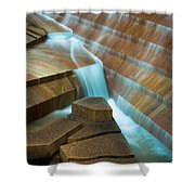 Staircase Fountain Shower Curtain
