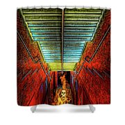 Staircase Into Hell Shower Curtain