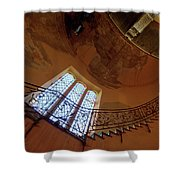 Stairway To Heaven Shower Curtain by Enrico Pelos