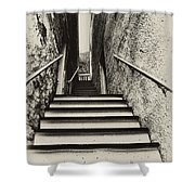 Stairs At Harpers Ferry Shower Curtain