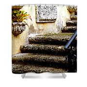 Stairs To Life Shower Curtain