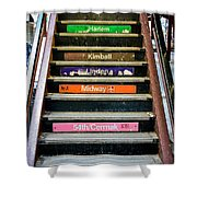 Stairs To The Chicago L Shower Curtain