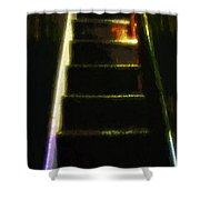 Stairs To The Madwoman's Attic Shower Curtain