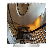 Stairs To The Top Shower Curtain
