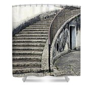 Stairs To Underground Shower Curtain