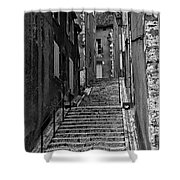 Stairway In France Shower Curtain