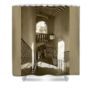 Stairway - In Sepia Shower Curtain