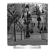 Stairway On Montmartre Shower Curtain