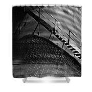 Stairway Shadow Shower Curtain