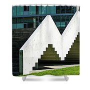 Stairway To Higher Learning Shower Curtain