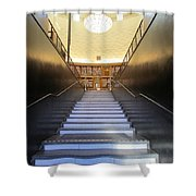 Stairway To Knowledge Shower Curtain
