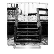 Stairway To Lbi Heaven Shower Curtain