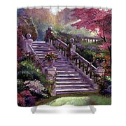 Stairway To My Heart Shower Curtain
