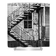 Stairway To Nowhere Shower Curtain